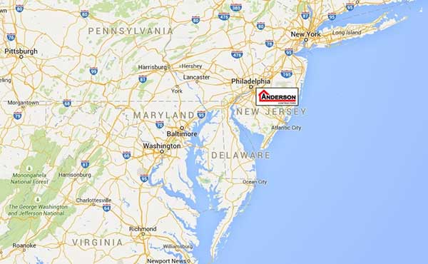 Anderson Contractors are located in Westville, NJ - Call us today